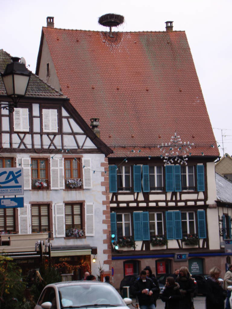 Ribeauvillé - Rota do Vinho da Alsácia França no Natal