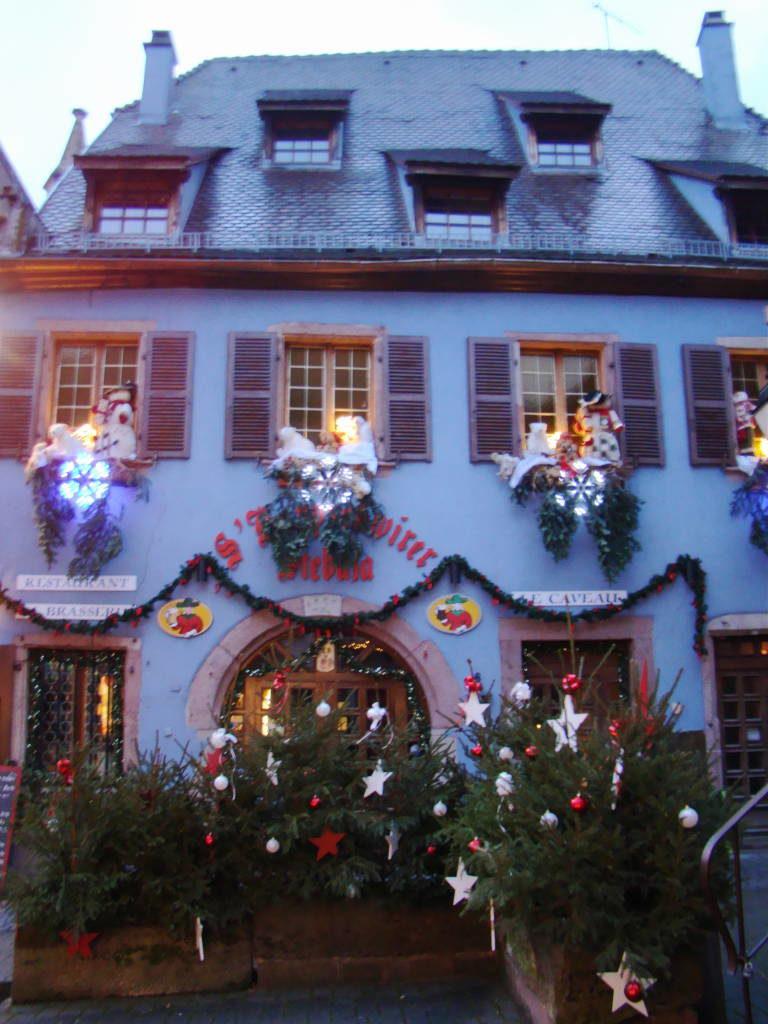 Riquewihr - Rota do Vinho da Alsácia França no Natal