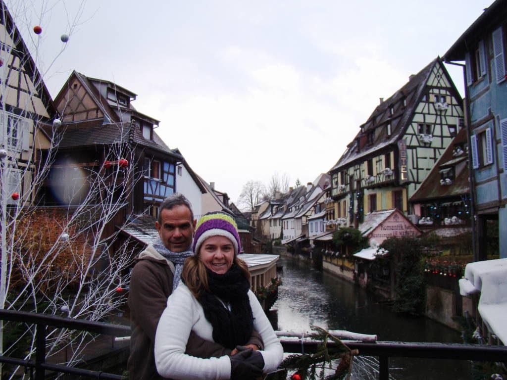 Colmar - Rota do Vinho da Alsácia França no Natal