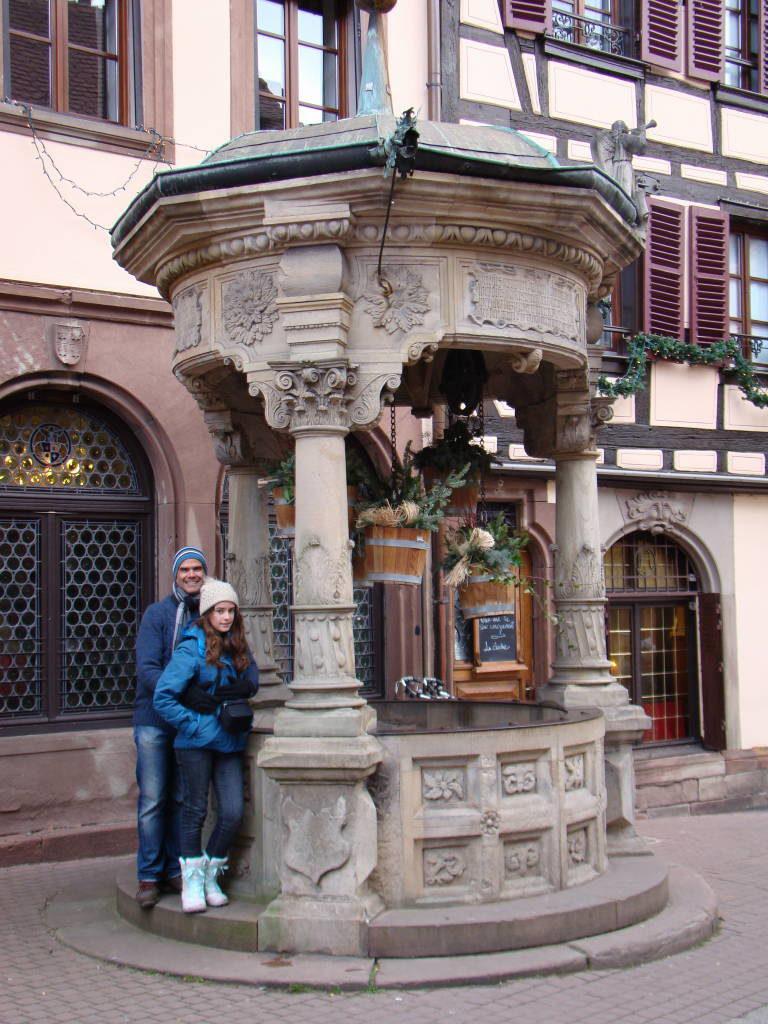 Obernai - Rota do Vinho da Alsácia França no Natal