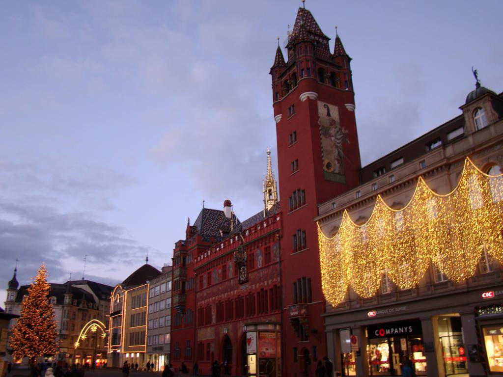 Basel - Rota do Vinho da Alsácia França no Natal
