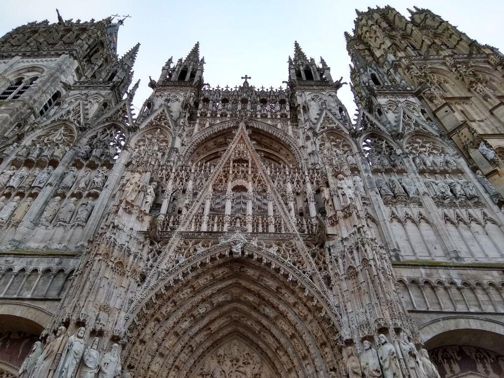 Catedral Notre Dame - O que fazer em Rouen França
