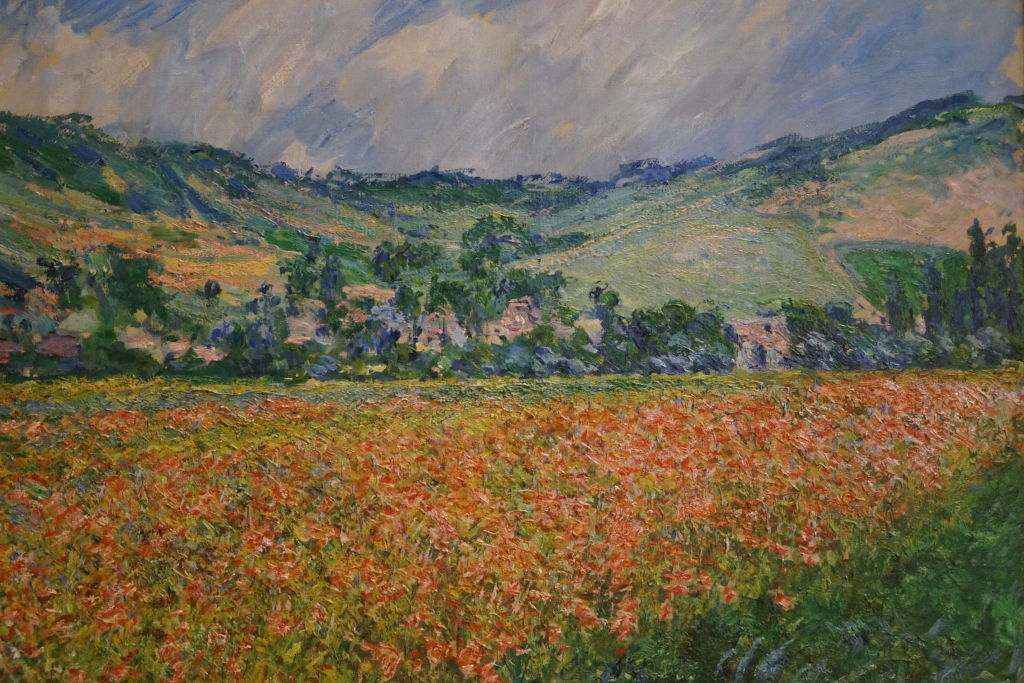 Champ de Coqueliquot Environs Giverny, Monet - O que fazer em Rouen França