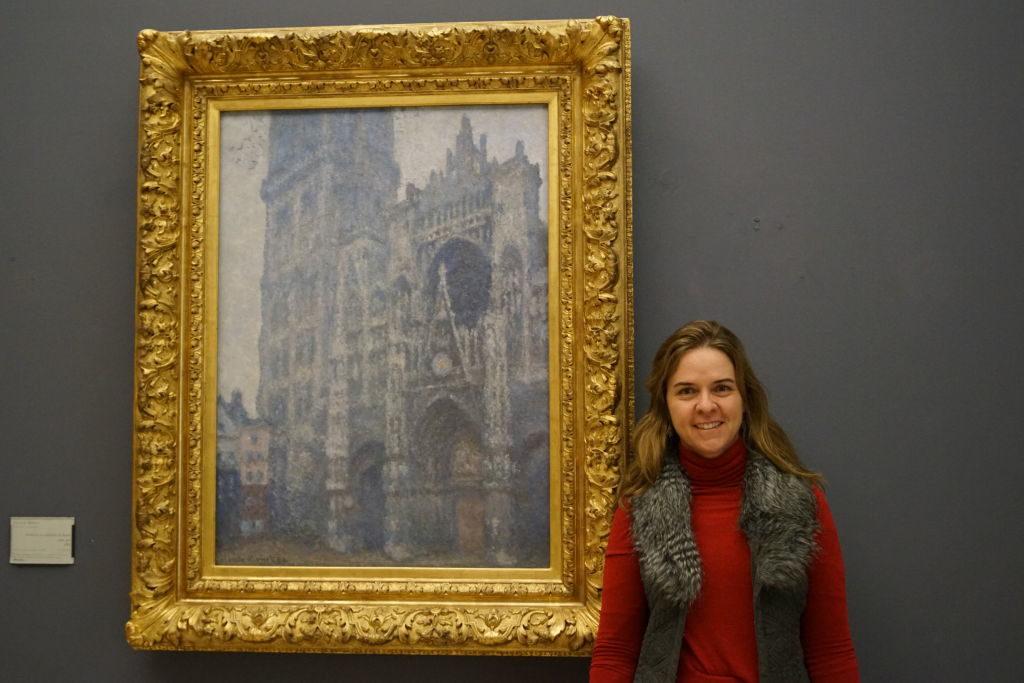 A Catedral de Rouen , Tempo Cinza, Monet - O que fazer em Rouen França