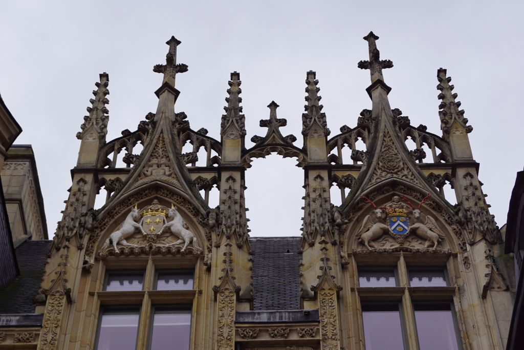 Hotel de Bourgtheroulde - O que fazer em Rouen França