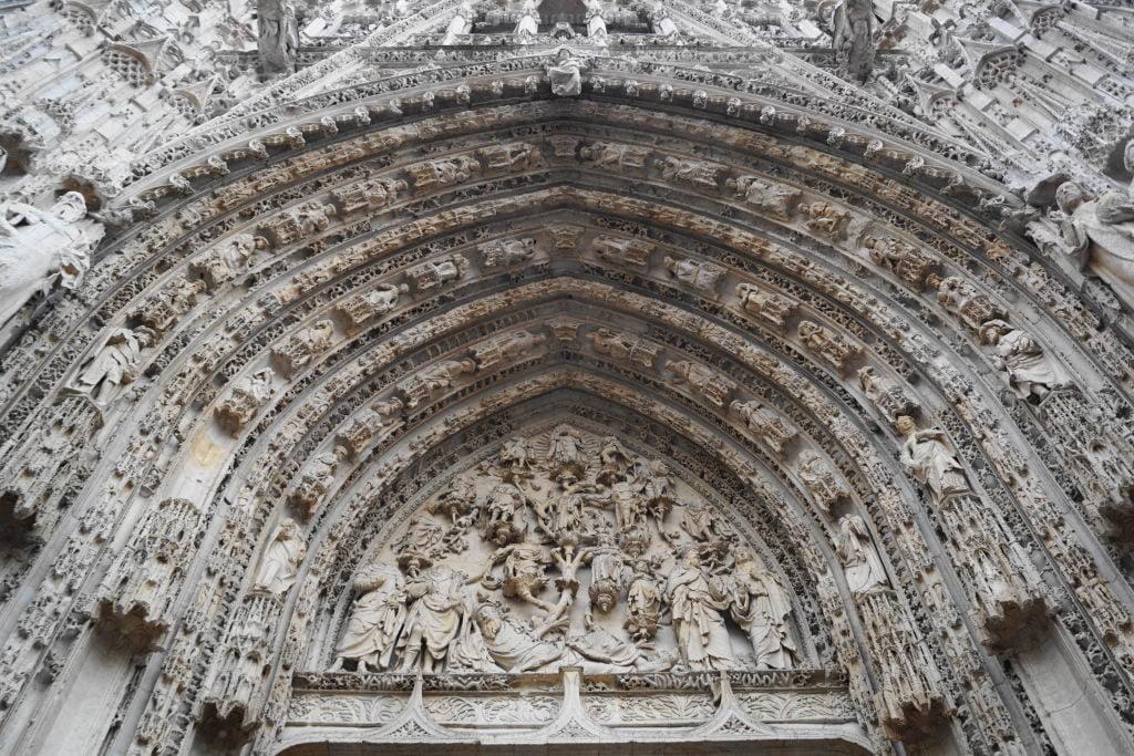 Catedral Notre-Dame - O que fazer em Rouen França