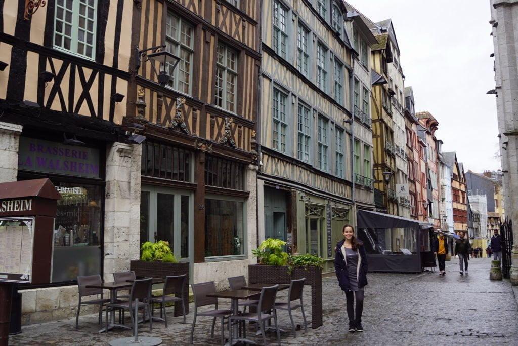 Rue Saint-Romain - O que  fazer em Rouen França
