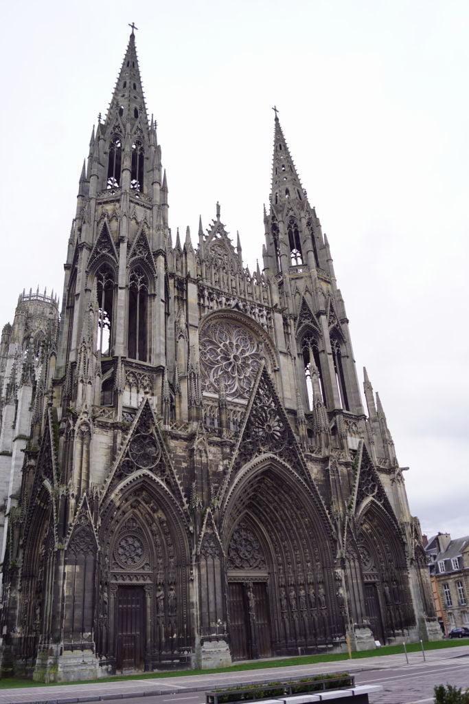 Abadia Saint-Ouen - O que fazer em Rouen França