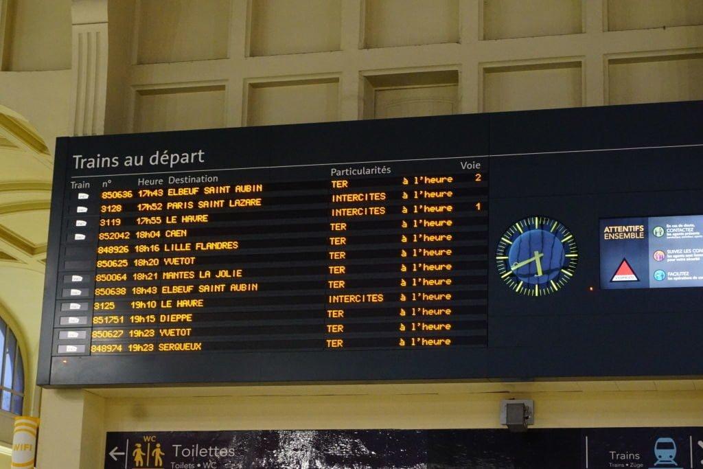 Gare Rouen Rive Droit - O que fazer em Rouen França
