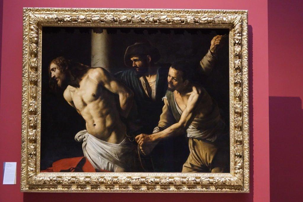 A Flagelação de Cristo, Caravaggio