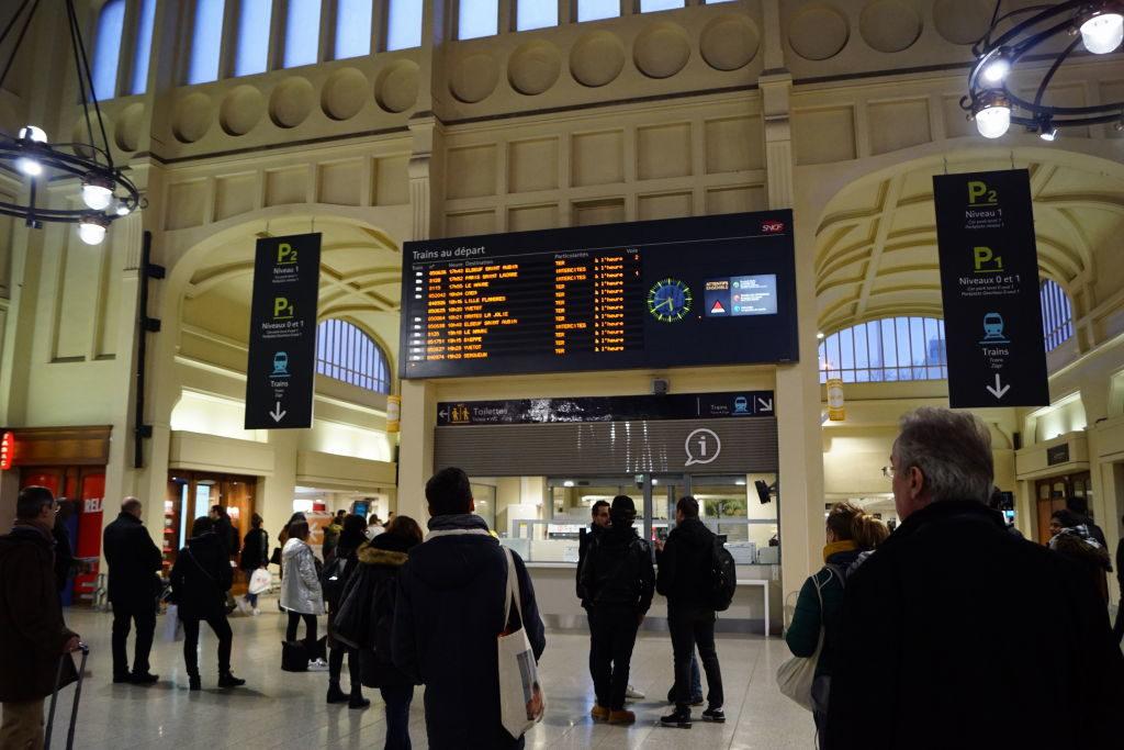 Gare Rouen Rive Droit