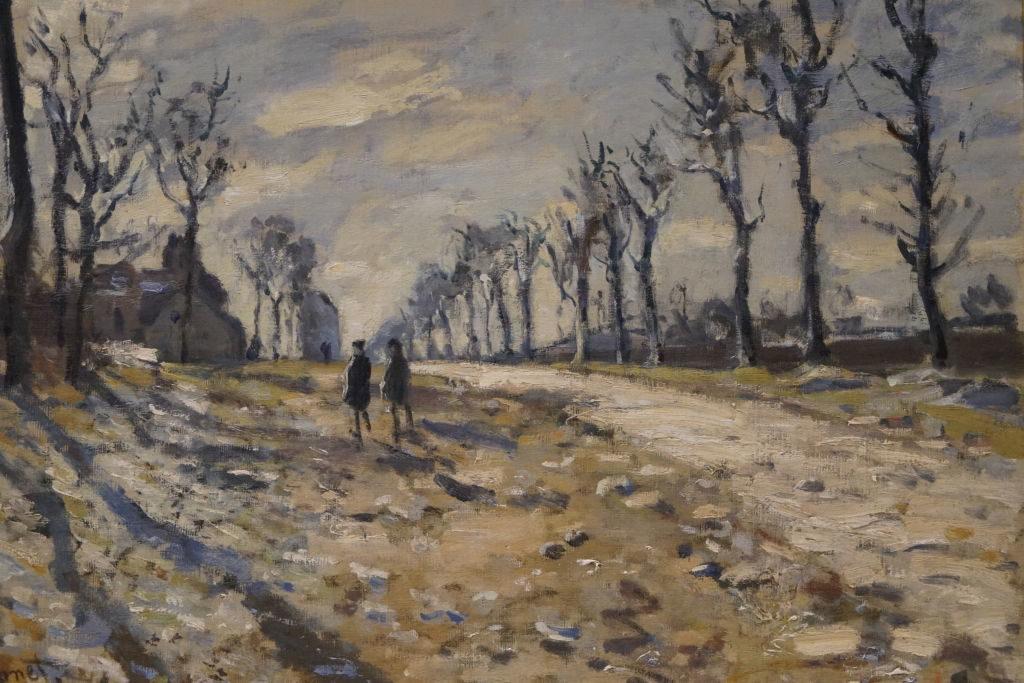 Route Effet de Neige, Soleil Couchant, Claude Monet - O que fazer em Rouen França