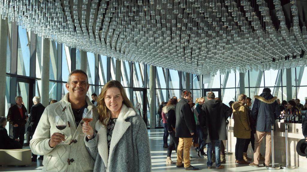 Bar Belvedère na Cité du Vin - Bordeaux França: Cidade do Vinho, Duna de Pilat e muito mais!