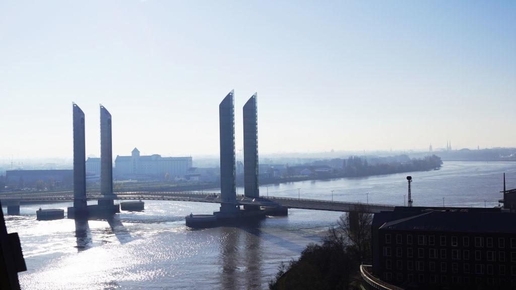 Vista do Belvedère - La Cité du Vin - Bordeaux França: Cidade do Vinho, Duna de Pilat e muito mais!