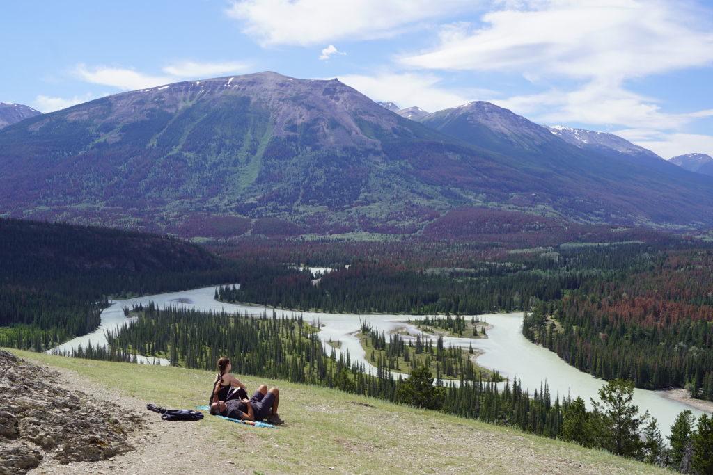 Trilha Old Fort Point - O que fazer no Parque Nacional Jasper Canadá