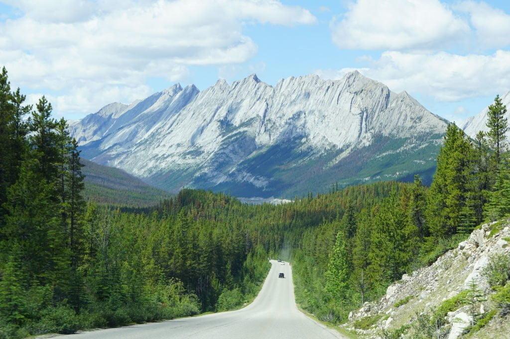 Maligne Valley Road - O que fazer no Parque Nacional Jasper Canadá
