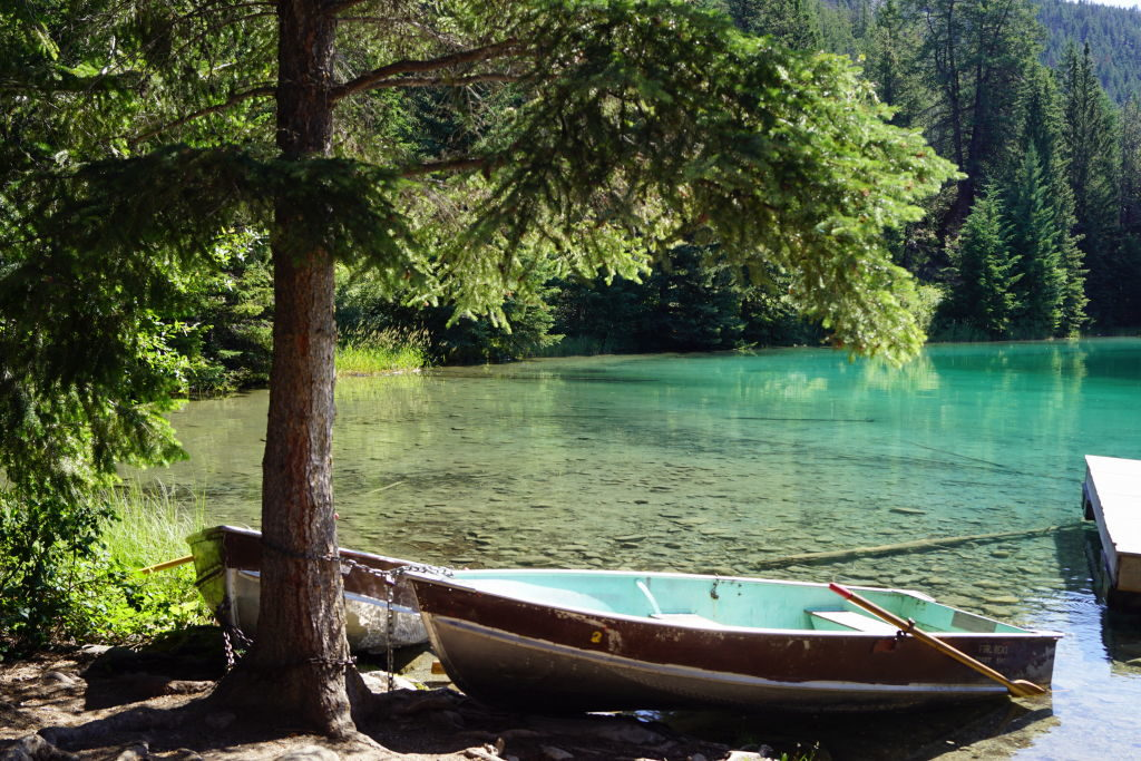 5º Lago no Valley of the 5 Lakes - O que fazer no Parque Nacional Jasper Canadá