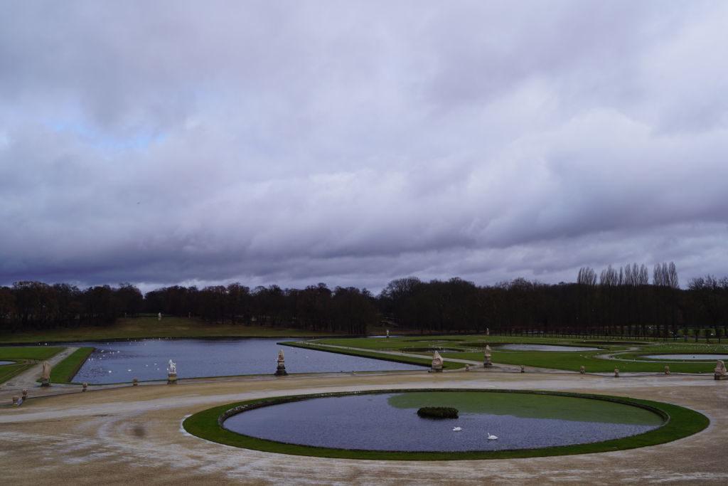 O Jardim Francês - O Castelo de Chantilly França vale a pena?