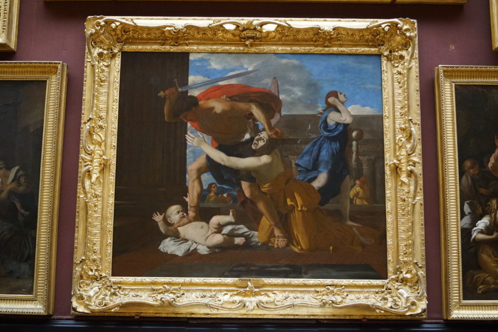O Massacre dos Inocentes de Poussin