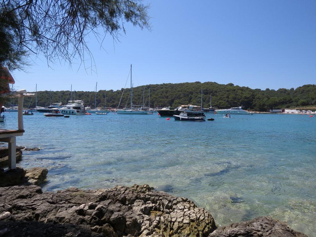 Praia de Palmizana na Ilha de Hvar - Croácia Praias e Pontos Turísticos