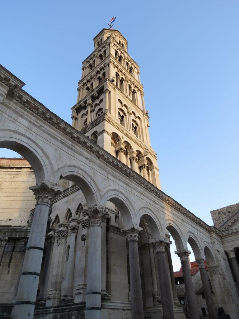Catedral de Saint Domnius no Palácio de Diocleciano - O que fazer em Split Croácia