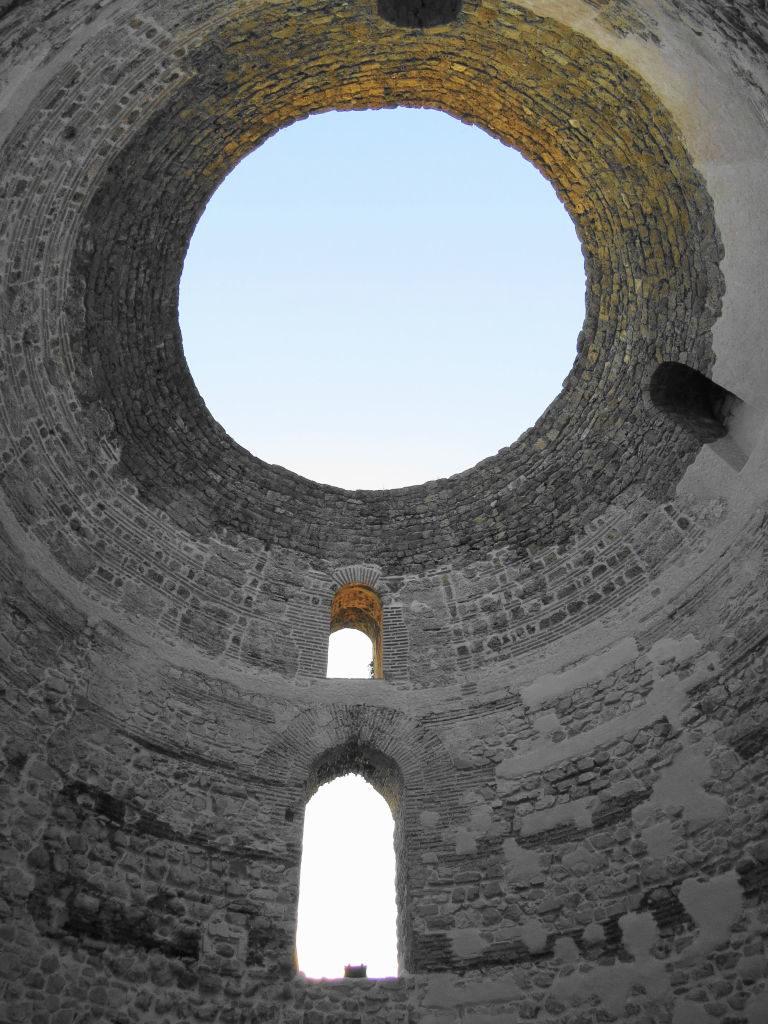 O Vestíbulo no Palácio de Diocleciano - O que fazer em Split Croácia