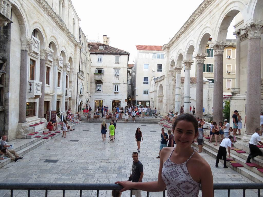 Peristilo - O que fazer em Split Croácia