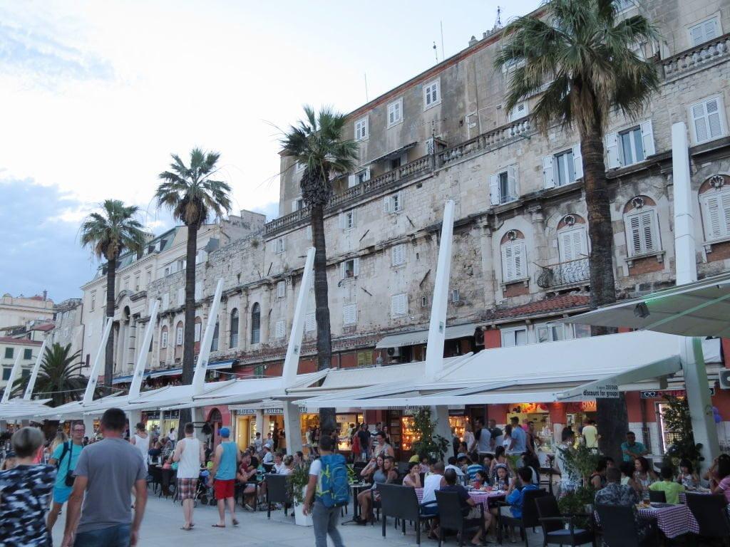 Riva - O calçadão - O que fazer em Split Croácia