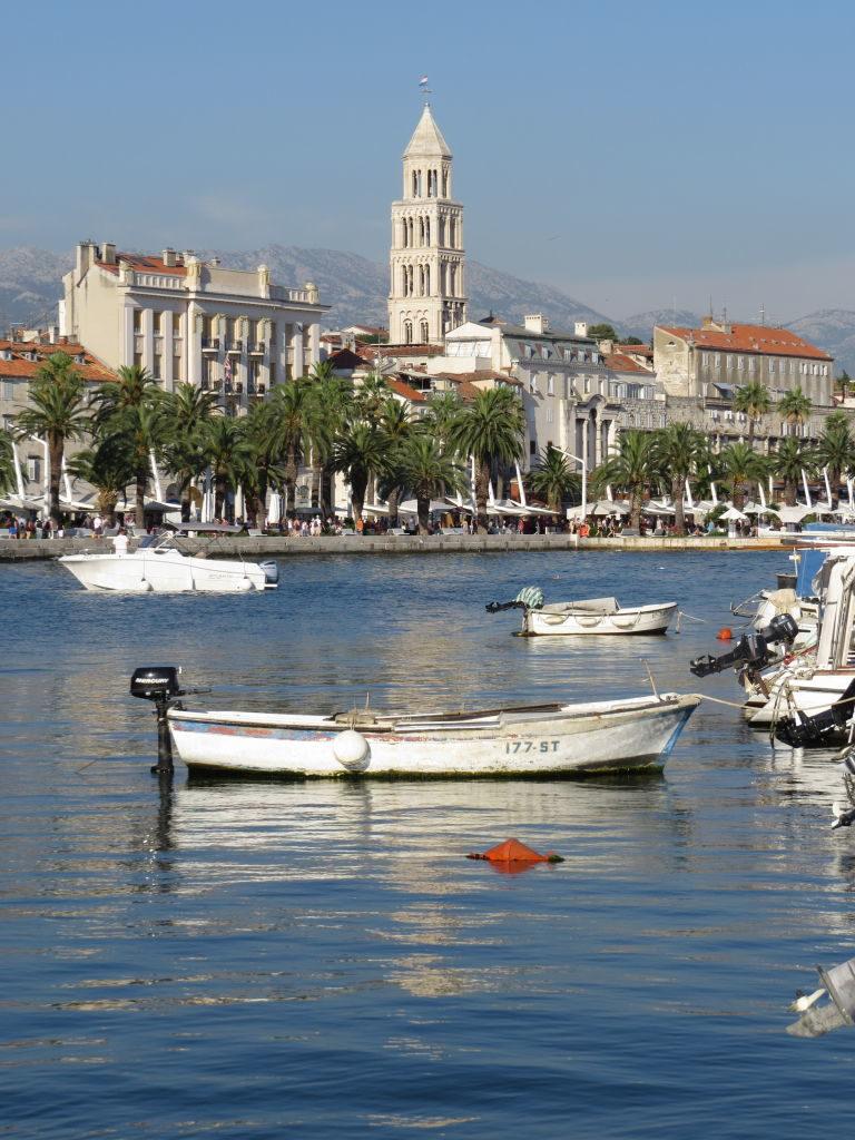 O porto de Matejuska - O que fazer em Split Croácia