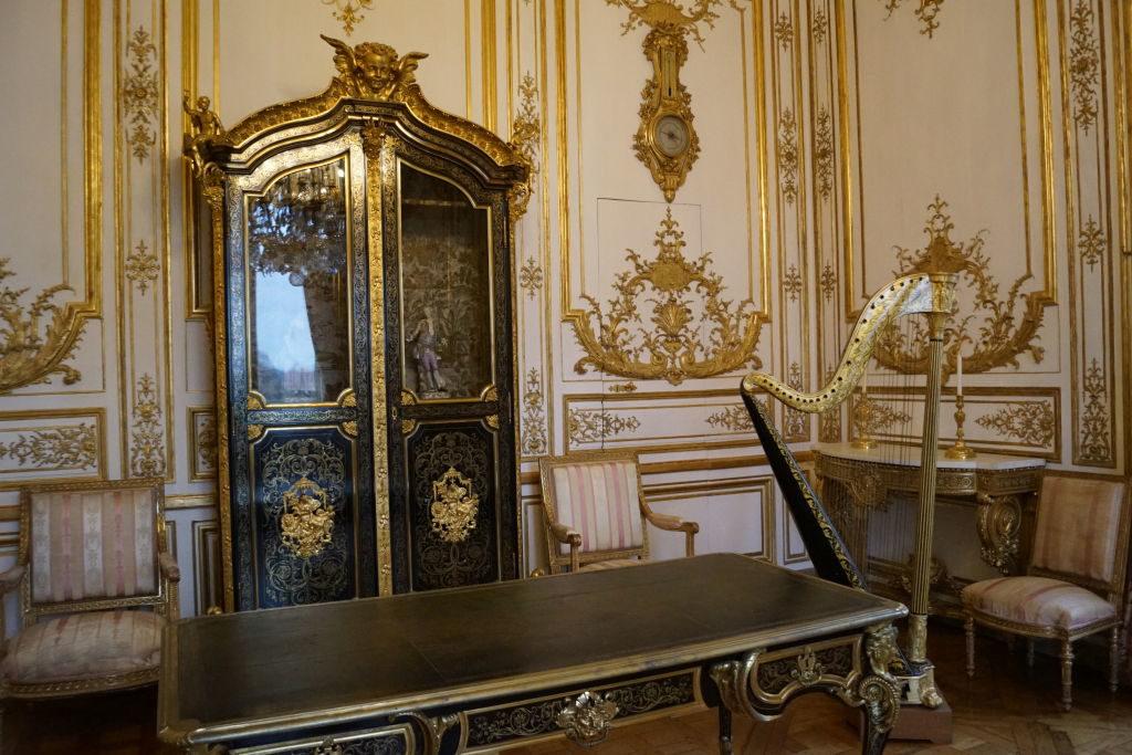 O Salão de Música - O Castelo de Chantilly França vale a pena?
