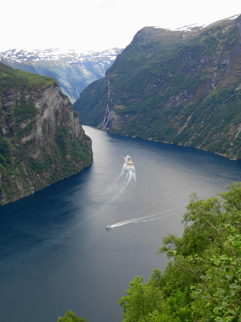 O mais belo dos fiordes da Noruega