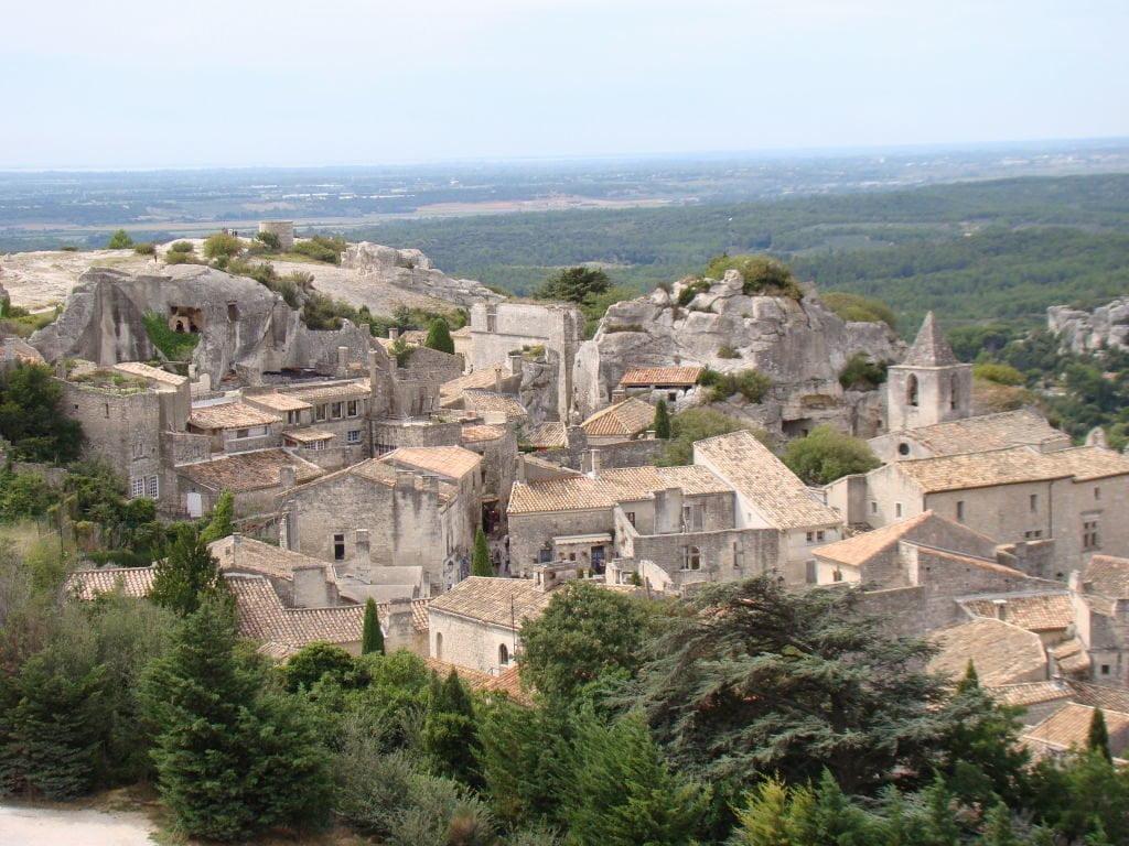 Villarejo medieval visto do castelo - O que fazer em Les-Baux-de-Provence