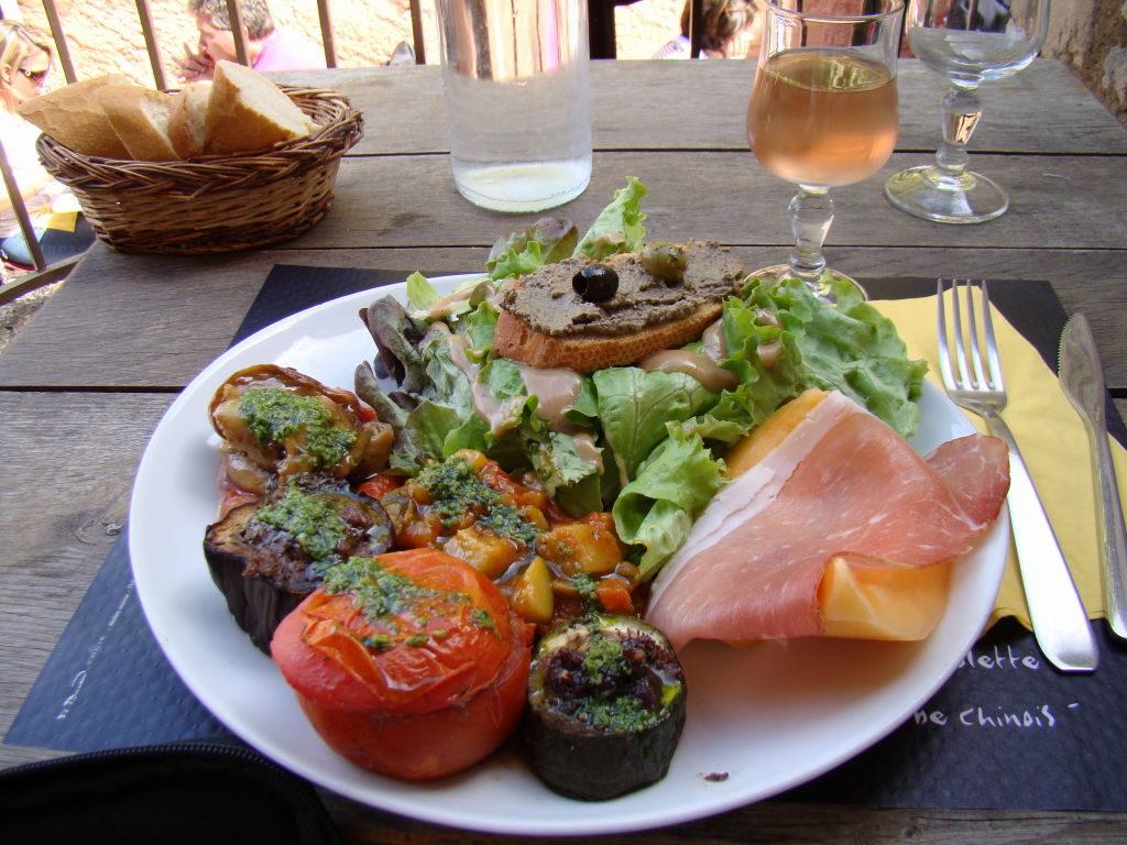Restaurante Auberge du Chateau - O que fazer em Les-Baux-de-Provence