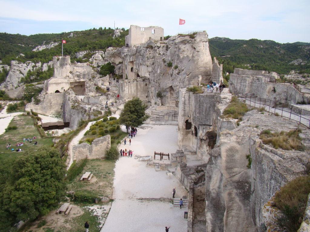 O castelo - O que fazer em Les-Baux-de-Provence