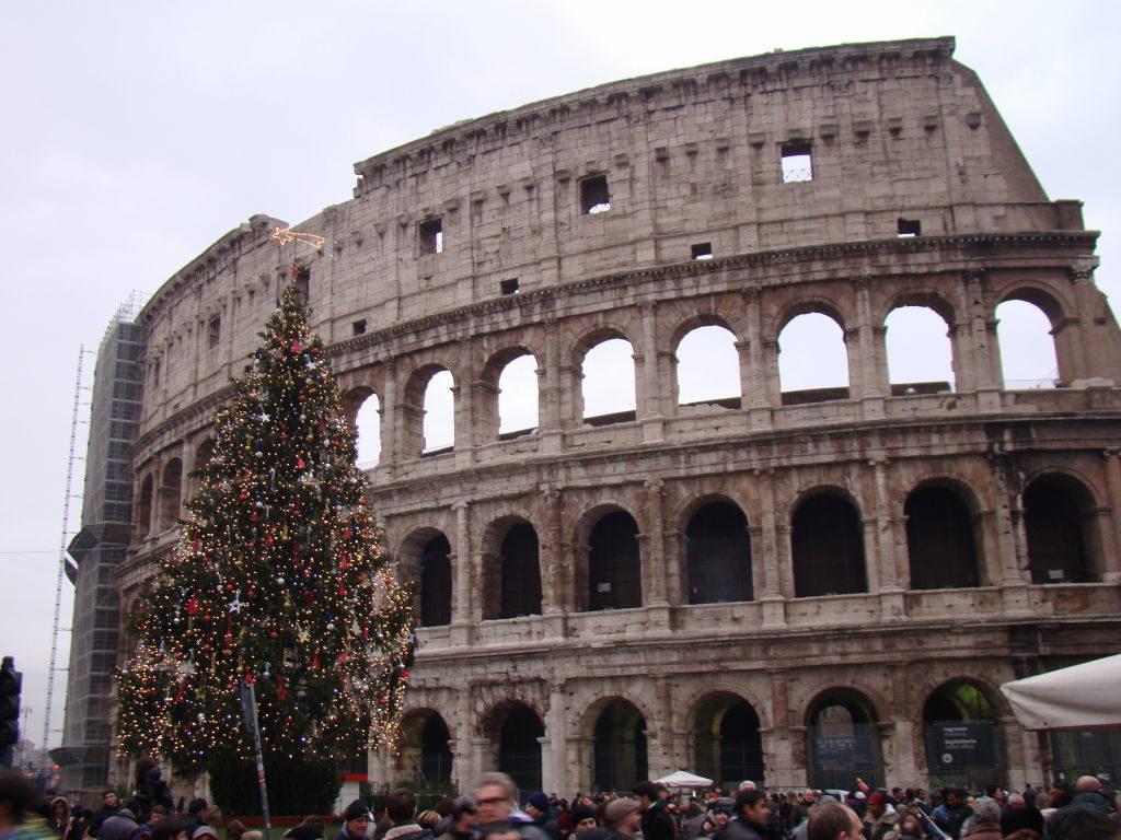 Coliseu no Natal - Pontos Turísticos de Roma - O que fazer em 3 dias!