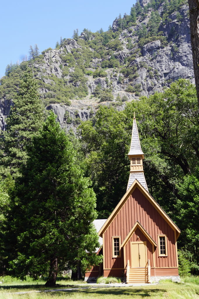 Capela - O que fazer no Parque Nacional Yosemite na Califórnia