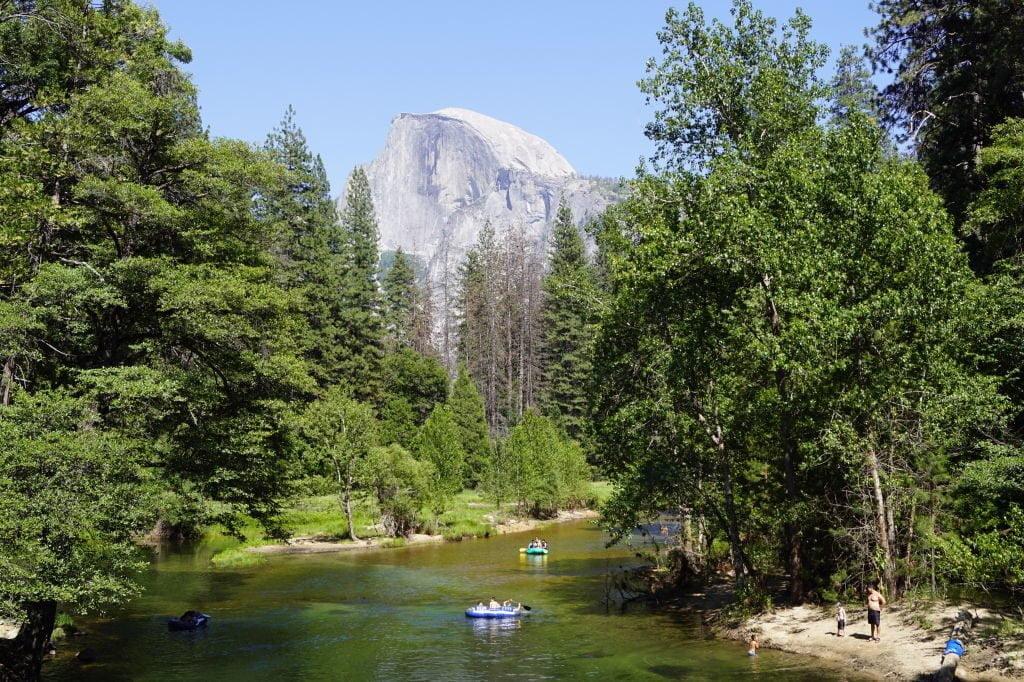 Vista da Sentinel Bridge - O que fazer no Parque Nacional Yosemite na Califórnia