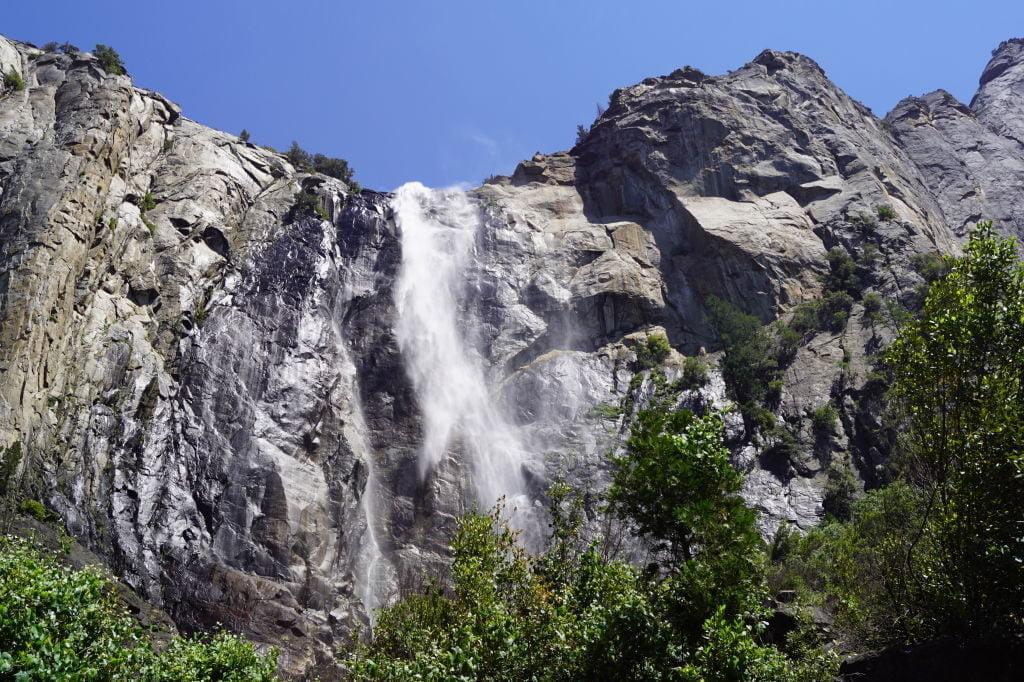 Bridal Veil Fall Trail - O que fazer no Parque Nacional Yosemite na Califórnia