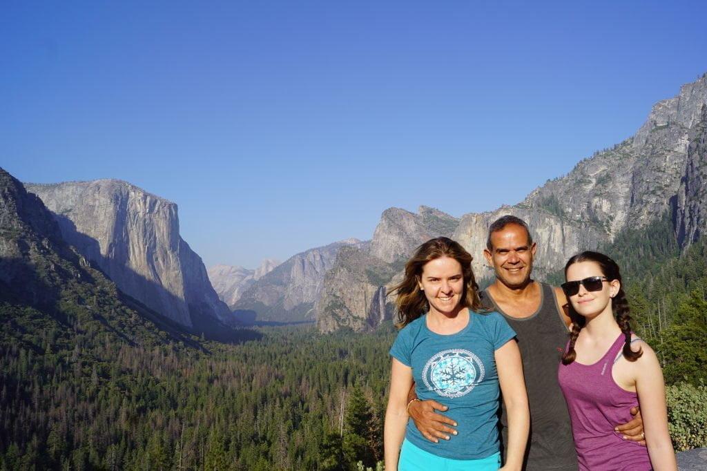 Tunnel View - O que fazer no Parque Nacional Yosemite na Califórnia
