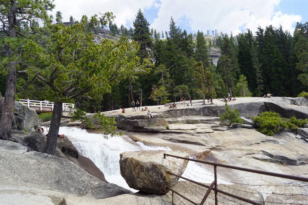Nevada Fall na Mist Trail - O que fazer no Parque Nacional Yosemite na Califórnia