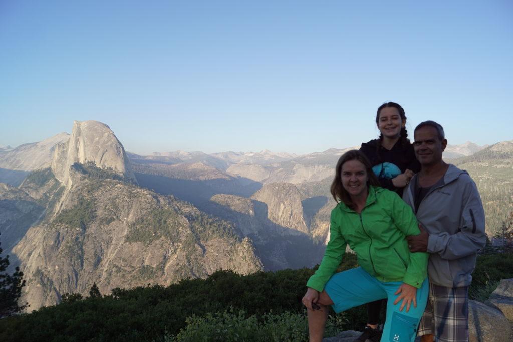 Glaciar Point - O que fazer no Parque Nacional Yosemite na Califórnia