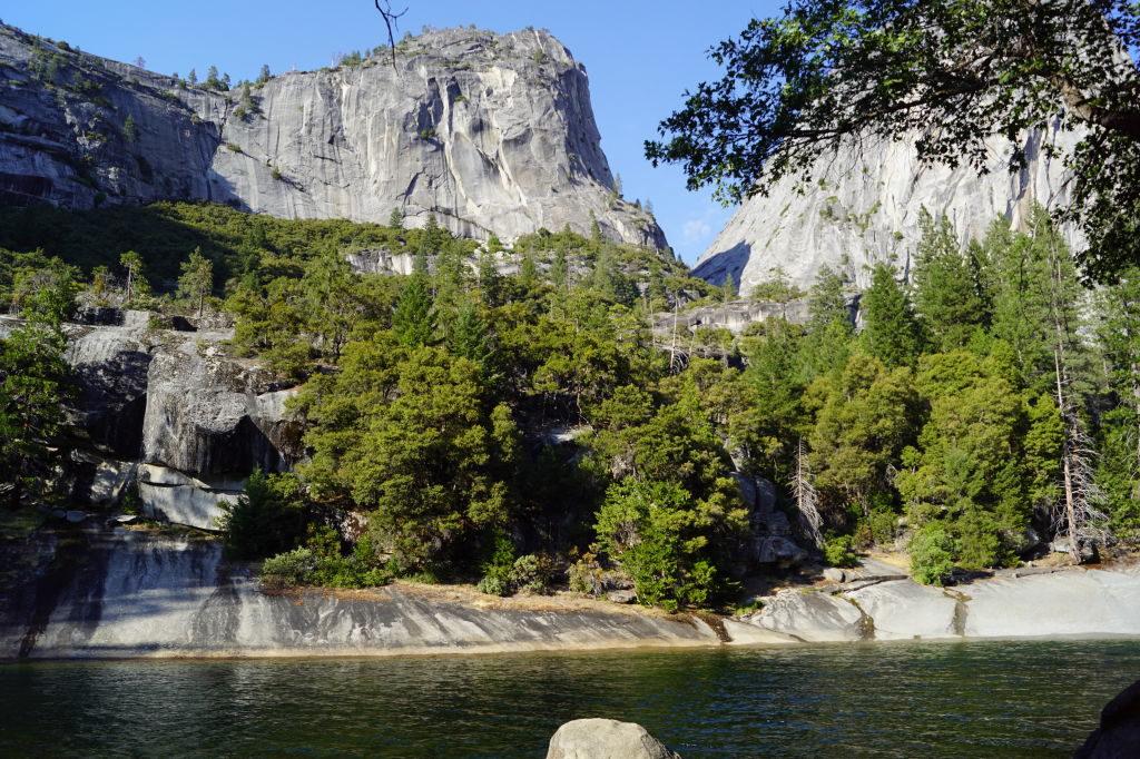 Vernal Fall  na Mist Trail - O que fazer no Parque Nacional Yosemite na Califórnia