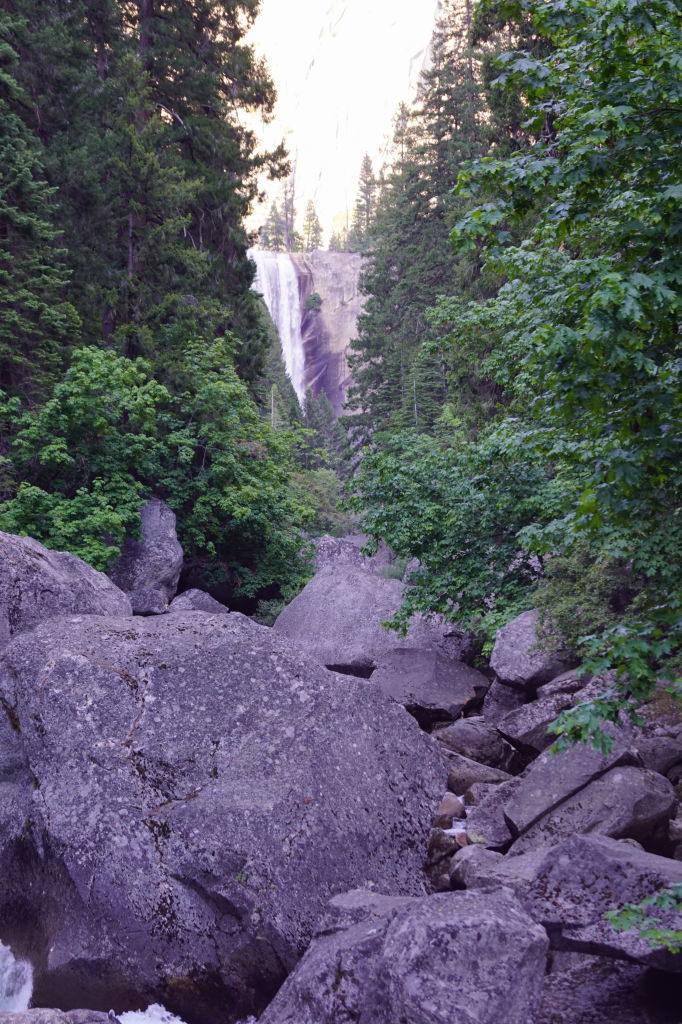 Vernal Fall Footbridge Trail - O que fazer no Parque Nacional Yosemite na Califórnia
