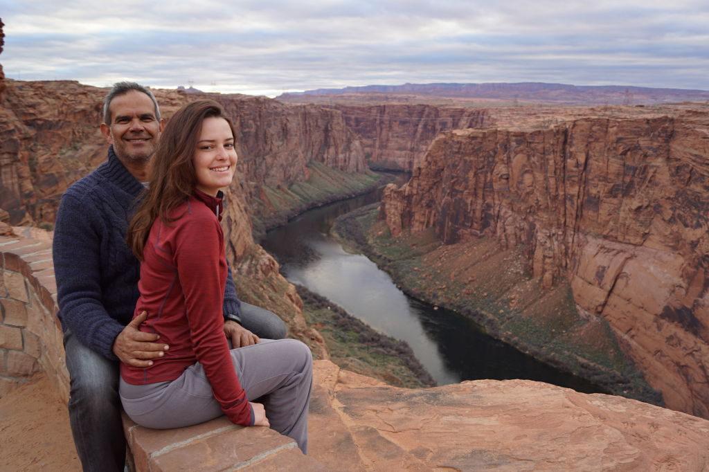 Belvedere da Glen Canyon Dam - Dicas do Antelope Canyon EUA