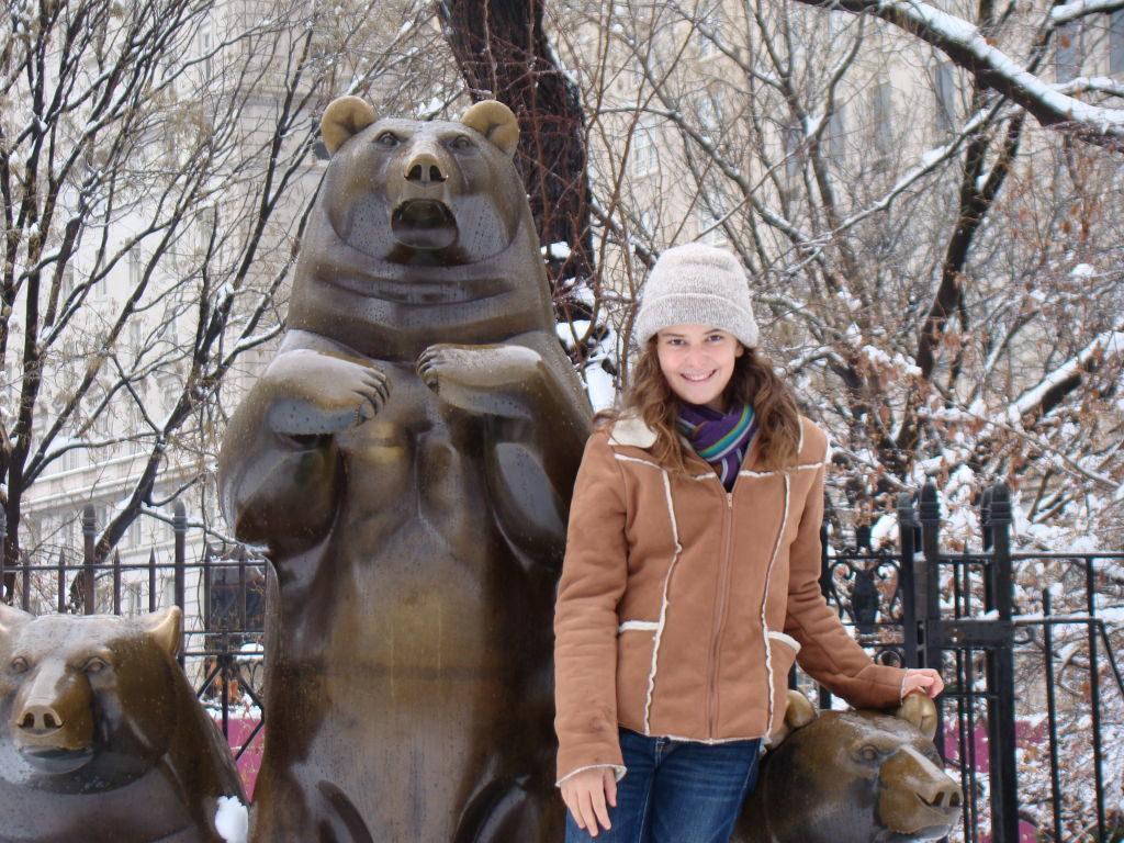 A lado do Metropolitan - O que fazer em Nova York no inverno - Com neve!