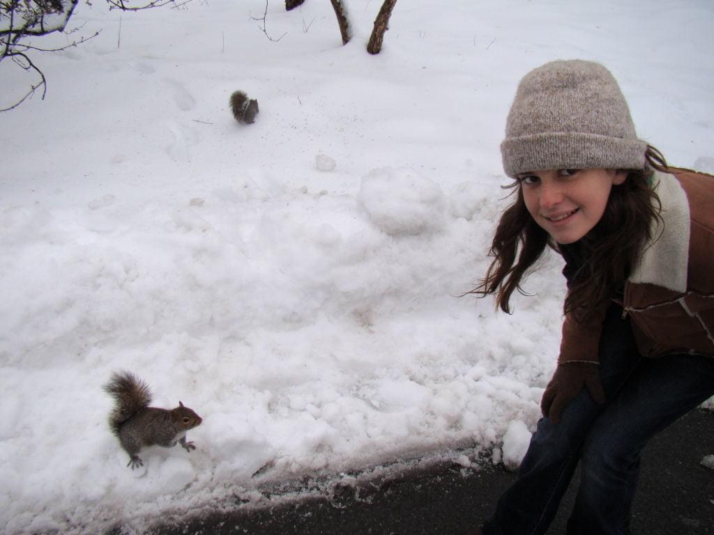 O que fazer em Nova York no inverno - Com neve!