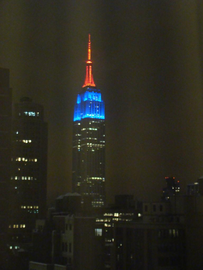 Empire State visto do nosso quarto no Stay Bridge Suites - Parque em Nova York? Central Park!