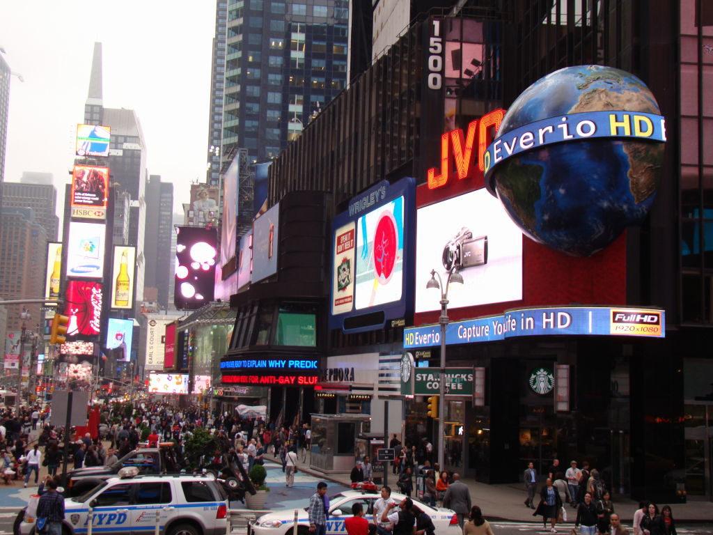 Times Square - Principais Pontos Turísticos de Nova York