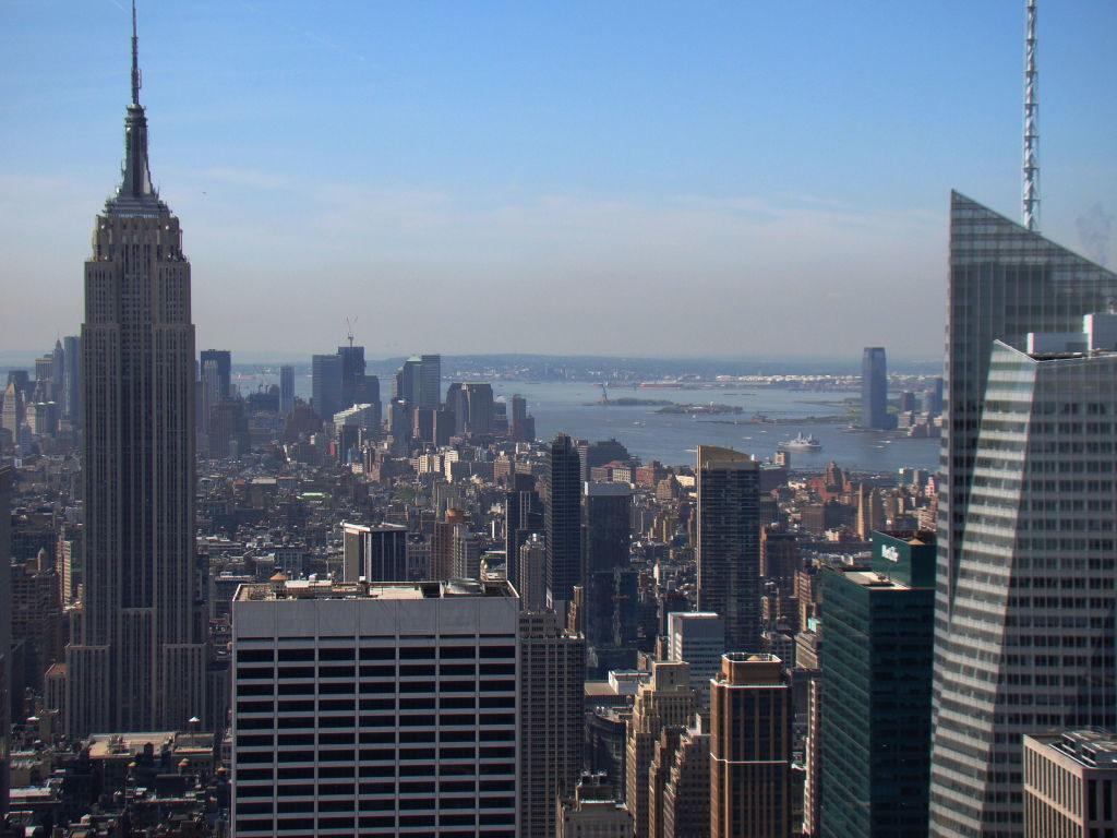 Vista do Top of the Rock - Principais Pontos Turísticos de Nova York