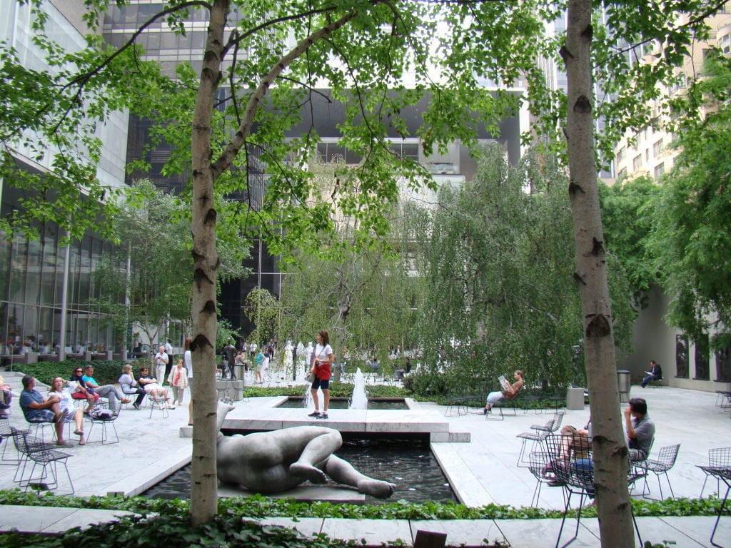 Jardim Interno do MOMA - Principais Pontos Turísticos de Nova York